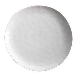 "Sculptured Dishware - Dinner Plate - Sculptured dinner plate measures 11"" diam."