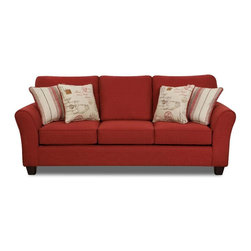 Chelsea Home Furniture - Chelsea Home Gloucester Sofa Upholstered in Mariner - Gloucester Sofa Upholstered in Mariner belongs to Verona VI collection by Chelsea Home Furniture.