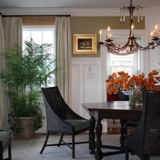 Traditional Dining Room by Robin Pelissier Interior Design & Robin's Nest