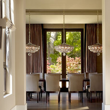 Contemporary Dining Room by Rachel Laxer Interiors, LTD