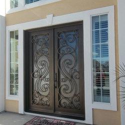 Iron Doors - Design C-305-30
