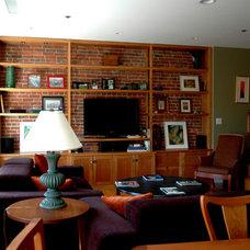 Contemporary Living Room by Lim Design Studio, Inc