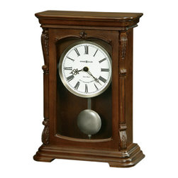HOWARD MILLER - Howard Miller Lanning Bracket-Style Mantel Clock - This special 82nd Anniversary Edition mantel clock features: