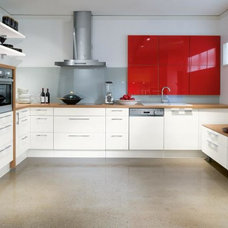 Contemporary Kitchen Cabinetry by BAUFORMAT