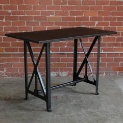 Vintage Steel Work Table -
