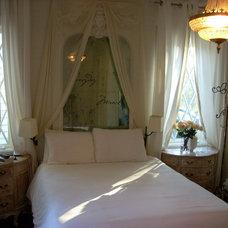 Eclectic Bedroom by Maureen Rivard