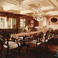 Traditional Dining Room by Chelsea Court Designs