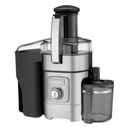 "Cuisinart - Cuisinart Die-Cast Juice Extractor - Features a 3"" feed tube that easily handles whole fruits and vegetables"