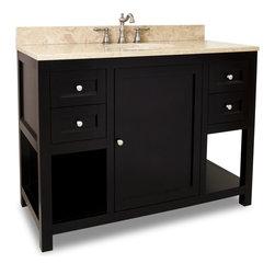 shop 48 inch solid wood vanity bathroom vanities on houzz