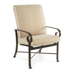 Winston Veneto Cushion High Back Dining Chair - Set of 2