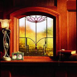 Andersen windows and doors - Andersen Art Glass Window, www.clevernest.com