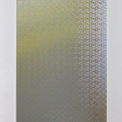 Morisco Decorative Interior Glass Door - The Morisco glass door features a simple and elegant design that reminds one of old Europe.  Delicate shapes adorn this textured glass creating a repeating pattern across the glass.  Featuring a high privacy rating, this door allows in light as it offers beauty and obscurity.  The Morisco glass door is offered in a variety of 9 wood species to compliment any interior including:  primed white, pine, oak, knotty pine, fir, maple, knotty alder, cherry and African mahogany.  Optional 8-foot tall doors are available in primed white and pine species only.