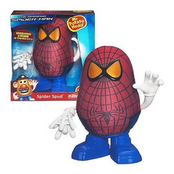 KOOLEKOO - Spider-Man Mr. Potato Head Spider-Spud - hwip! Spider-Spud is slingin' his web to fry crime and get the bad guys. His starch enemies better watch out when this amazing mash is on a mission! Dress the potato you love as your friendly neighborhood Spider-Man! You can even mix and match all the parts to create your own wacky looks!