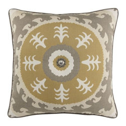 Elaine Smith Sedona Sun with Concho Pillow - If you're lucky enough to have room for a seating area on your porch, this pillow is a great way to add pattern and some subtle color.