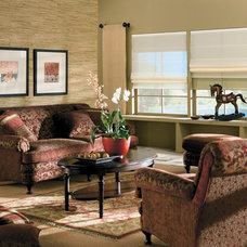 Traditional Living Room by Blinds.com