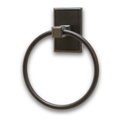 Residential Essentials - Venetian Bronze Hamilton Towel Ring(RE2586VB) - Venetian Bronze Hamilton Towel Ring