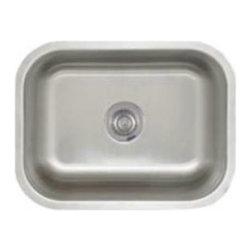 Blanco 441398 23 x 17 Inch Under Mounted Kitchen Sink In Stainless Steel -