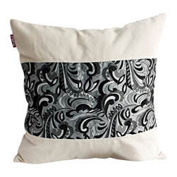 Blancho Bedding - [Cavaliele] Linen Stylish Patch Work Pillow Floor Cushion (19.7 by 19.7 inches) - Aesthetics and Functionality Combined. Hug and wrap your arms around this stylish decorative pillow measuring 19.7 by 19.7 inches, offering a sense of warmth and comfort to home buddies and outdoors people alike. Find a friend in its team of skilled and creative designers as they seek to use materials only of the highest quality. This art pillow by Onitiva features contemporary design, modern elegance and fine construction. The pillow is made to have invisible zippers, linen shells and fill-down alternative. The rich look and feel, extraordinary textures and vivid colors of this comfy pillow transforms an ordinary, dull room into an exciting and luxurious place for rest and recreation. Suitable for your living room, bedroom, office and patio. It will surely add a touch of life, variety and magic to any rooms in your home. The pillow has a hidden side zipper to remove the center fill for easy washing of the cover if needed.