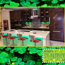 Modern Kitchen Lighting And Cabinet Lighting by Housley Enterprises