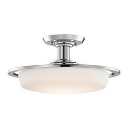 Kichler Lighting - Kichler Lighting 3694CHW Armida Traditional Semi Flush Mount Ceiling Light - Kichler Lighting 3694CHW Armida Traditional Semi Flush Mount Ceiling Light