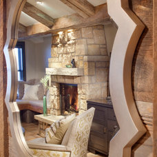 Rustic Wall Mirrors by Crested Butte Builders Inc