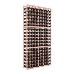 Wine Racks America - 9 Column Standard Wine Cellar Kit in Redwood, White Wash + Satin Finish - A 9 column solution from our most popular style of wine racking. Completely solid assembly to withstand extensive use. We guarantee it. All the edges of our products are softened to ensure you won't get nicks or splinters, like you will from budget brands. You'll be satisfied. We guarantee that, too.