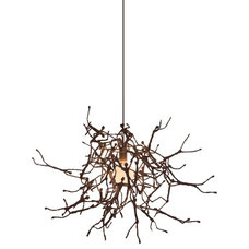 eclectic pendant lighting by kezu.com.au