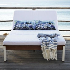 Modern Outdoor Chaise Lounges by West Elm