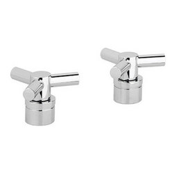 Grohe - Grohe 18026000 Starlight Chrome Atrio Atrio Trio Spoke Handles - Add the finishing touch to your bathing space with one of GROHE´s spectacular faucet designs. Modern or traditional, a GROHE faucet will be the talking point of your bathroom or kitchen. Trio spoke handles Sold in pairs For Kitchen/Bar and Lavatories