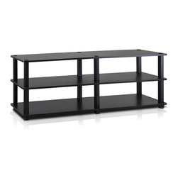 Furinno - Furinno 14038 TST 3-Tier Wide Shoe Rack, Espresso/Black - Furinno Turn-S-Tube (TST) No Tools Series multipurpose storage rack shelves comes in 2-3-4 Tiers and variety of width and depth. This series of products also includes difference sizes width, height and different fun colors. The storage shelf is designed to meet the demand of fits in space, fits on budget and yet durable and efficient furniture. It is proven to be the most popular RTA furniture due to its functionality, price, and the no hassle assembly. The DIY project in assemblying these products can be fun for kids and parents. There are no screws involved, thus it is totally safe to be a family project. Just turn the tube to connect the panels to form a storage shelf. The main material particle board is CARB compliant composite wood carrying the Forest Stewardship Council (FSC) certification and PVC Tubes. The particle board for furniture is processed from parts of rubber trees. There is no foul smell of chemicals, durable and it is the most stable among particleboard used to make RTA furniture. Care instructions: Wipe clean with clean damped cloth. Avoid using harsh chemicals. Pictures are for illustration purpose. All decor items are not included in this offer.