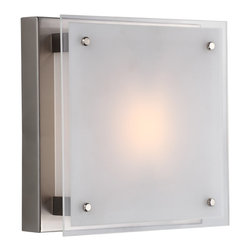 "DVI LIghting - Dvi Lighting DVP10331CH-SSW 10"" Flushmount - DVI Lighting DVP10331CH-SSW 10"" Flushmount"