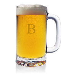 None - Personalized Pub Beer Mugs (Set of 4) - Cheer a cold one with your friends using these pub beer mugs. These classic beer mugs hold 16-ounces of liquid. These Susquehanna Glass mugs are individually hand decorated,come in a set of four,and are dishwasher-safe for your convenience.