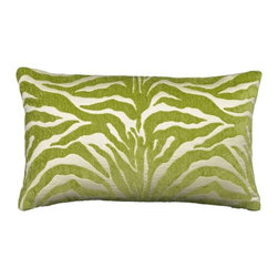 Elaine Smith Lime Outdoor Pillows - How great is a fun print like this in lime green? They come in multiple colors so you can create a riot of different design and colors on your more subtle furniture.
