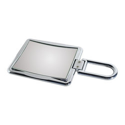 WS Bath Collections - Toeletta Lady 377-3KK Travel Magnifying Mirror in Chrome - Toelleta Lady 377-3KK Travel Magnifying Mirror in Chrome