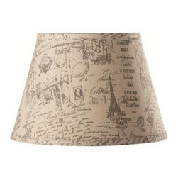 Home Decorators Collection - Home Decorators Collection Empire 9.5 in. H x 14 in. W Small French Script Linen - Shop for Lighting & Fans at The Home Depot. Choose our Empire Linen Lamp Shade when you need a smart, sophisticated touch to finish off your decorating concept. The smooth, gently tapered shape will complement a wide variety of styles. Order one for your home today.