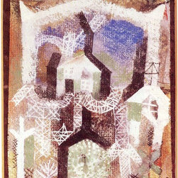 """Art MegaMart - Paul Klee Summer Houses - 18"""" x 27"""" Premium Canvas Print - 18"""" x 27"""" Paul Klee Summer Houses premium canvas print reproduced to meet museum quality standards. Our museum quality canvas prints are produced using high-precision print technology for a more accurate reproduction printed on high quality canvas with fade-resistant, archival inks. Our progressive business model allows us to offer works of art to you at the best wholesale pricing, significantly less than art gallery prices, affordable to all. We present a comprehensive collection of exceptional canvas art reproductions by Paul Klee."""
