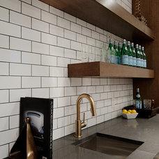 Contemporary Basement by Veranda Estate Homes & Interiors