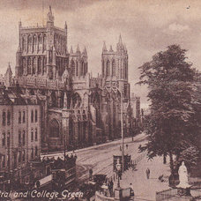 Bristol Cathedral by glimpsesofthepast on Etsy