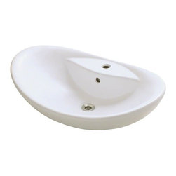 PolarisSinks - Polaris P012VB Bisque Porcelain Vessel Sink - Our extensive line of porcelain sinks will compliment any decor from the traditional to the unique. Our porcelain sinks are true vitreous china with a triple laid glaze to create the strongest sink you will find. Our porcelain sinks are extremely low maintenance. Our porcelain sinks are covered by a limited lifetime warranty. Each comes with a cardboard cutout template and mounting hardware.