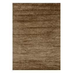 Loloi - Loloi Byron Collection BYROBB-01AR0086B6 Rug - Hand-knotted in India of 100 percent Bamboo silk, the Byron Collection upgrades upscale modern and transitional room settings with a dose of sleek style. Its natural luster adds vibrancy to this series of solid, tonal designs.