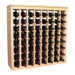 64 Bottle Deluxe Wine Rack
