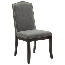 Transitional Dining Chairs Jazz Fabric Side Chair