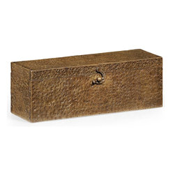 Jonathan Charles - New Jonathan Charles Box Bronze Metal Brass - Product Details