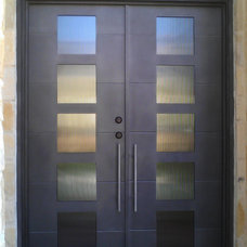 Modern Front Doors by San Marcos Iron Doors