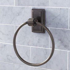 Traditional Towel Rings by Pottery Barn
