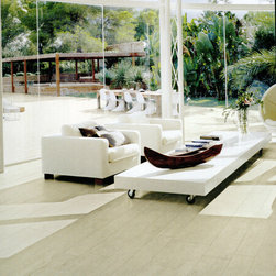 Porcelain Floor Tile -- Fossil Wood Series -