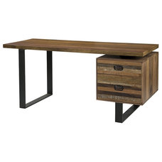 Industrial Desks And Hutches by Zin Home
