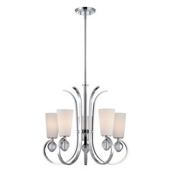 Quoizel - Quoizel ARH5005 Aldrich 5 Light 1 Tier Chandelier - Features: