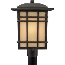 Craftsman Post Lanterns by Arcadian Home & Lighting