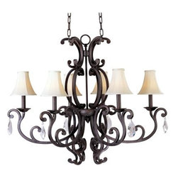 Maxim Lighting - Maxim Lighting 31009CU Richmond 6-Light Chandelier In Colonial Umber - Features